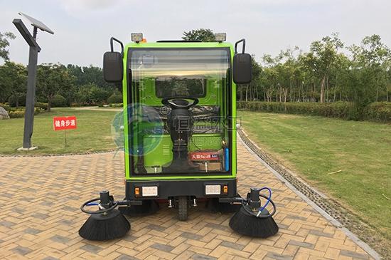 惠州電動掃地車